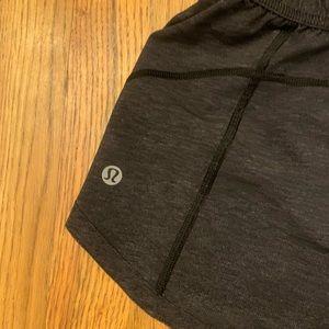 lululemon athletica Shorts - Lululemon REVERSIBLE Shorts Charcoal Gray reversin
